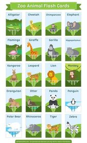 Free Printable Zoo Animal Flash Cards Download Them In Pdf Format At Http Flashcardfox Com Download Zoo Animal Flas Animal Flashcards Flashcards Zoo Animals