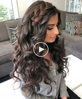 Braided shoulder-length hair: 15+ easy-to-use instructions for every day #homecominghairstyle #ponytail #bonhairstyle #hairstyle Check more at    -