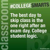 #college smarts #college #college life #student #student life #exam #exam day #s… – College