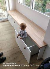 IKEA Hack: Banktruhen Stuva / Als Sitzbank folgen …
