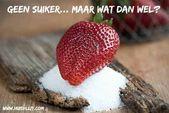 Suiker vervangen met suikervervangers: maar welke