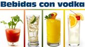 Wodka trinkt SEHR EINFACH zuzubereiten | Mit Alkohol zubereitete Getränke – DIY