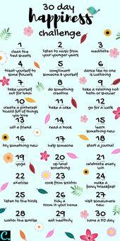 Möchten wissen, wie man glücklich ist? Nehmen Sie dieses 30-Tage-Glück … – #Tag #Unglück #Unglück …  – christmas