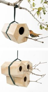 34 DIY Bird Houses
