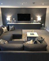 54 Die beste Inneneinrichtung für das Wohnzimmer, die Sie in Ihrem Zuhause ausprobieren können – #Design
