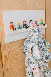 Children's coat rack by Playmobil – Fun World – Marjon Willems