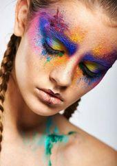 Regenbogengesicht   – Ideas for makeup for Jason's pics