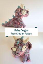 Wunderschöne häkeln Baby Drachen für das besondere wenig in Ihrem Leben – schnittmuster
