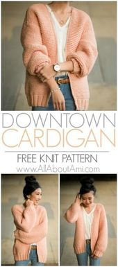 The Downtown Cardigan