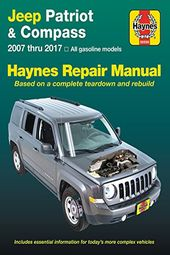Jeep Patriot Compass 07 17 Haynes Repair Manual Does Not Include Information Specific To Diesel Engine Models Includes Thorough Vehicle Coverage Exclu Jeep Patriot Jeep Patriot