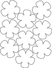 New flower shapes for printing