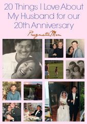 Happy 20th Anniversary To My Husband 20th Anniversary Gifts 20th Anniversary Ideas 20th Wedding Anniversary Gifts