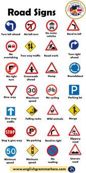 Street Indicators, Site visitors Indicators – English Grammar Right here