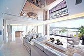 Zimmerdecke Wohnzimmer einrichten Ideen modern #s…
