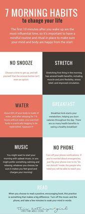 10 besten Morgen Routine-Ideen für Frauen   – Vitamine