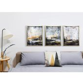 Framed Art Set above the couch or bed