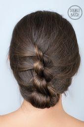 Einfache Frisuren für die Schule: Der Twister