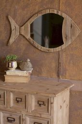 25+ superbes idées de décor côtier rustique pour une décoration intérieure simple / FresHOUZ.com
