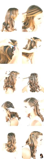 #DIYInstruction #Hairstyles # for #Hairstyle step by step # Ideas