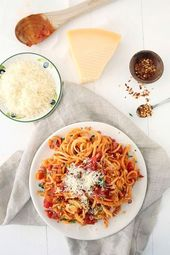 Spaghettis de panais
