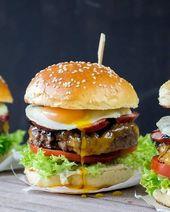 Heute gibt es einen tollen Burger auf meinem Blog, 100% Rindfleisch, mit w …  …