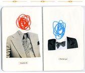 Anthony Zinonos, collages vintage minimalistas   – SKETCHING