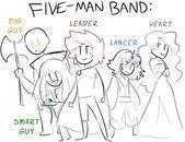 47++ Fiveman band ideas