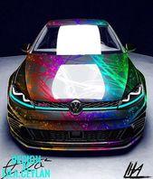 Volkswagen GTI – Lackierfolien – #Folien #GTi #Beschichtung #Volkswagen   – Luxury Cars