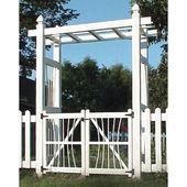 Pergola Arbor With Gate Also Simple Design Vinyl Pergola Arbor Gate Pergola