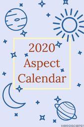 2020 Astrology Calendar: Retrogrades, Full Moons, and More