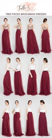 Trendy Dress Bridesmaid Two Pieces 44+ Ideas