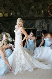 Mermaid Open Back Strap Tüll Kathedrale Zug Brautkleid Mit Spitze Mieder - JoJoBride #Brautjungfer #Hochzeit #BrautjungferKleid #Homedekor