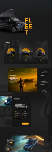 Diseño web alquiler de coches de lujo en Behance   – Design