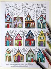 44 Ideas home drawing house coloring pages