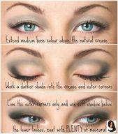 Neue Trends von 2017 Buntes Augen Make-up & Beste Produkte für Buntes Augen Make-up   – augen make up anleitung