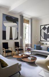 In Paris ist die Wohnung des Architekten …