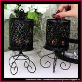 Dollar Store Crafter: DIY Candle Holders From Doll…