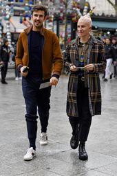 Der beste Streetstyle der Paris Fashion Week Men's AW18 – { Men's Street Styles }