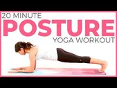 20 minute Core Power Yoga Workout for Better Posture | Sarah Beth Yoga