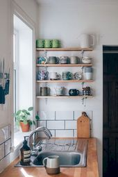 50 erstaunliche kleine Wohnung Küche Dekor Ideen …