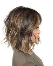 Short Balayage for Dark Brunette by HMB Hair Makeup Beauty Honolulu, Hawaii. #shorthairbalayage - #balayage #beauty #brunette