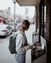 Pinterest // Carriefiter // 90er Jahre Mode Street Wear Street Style Fotografie