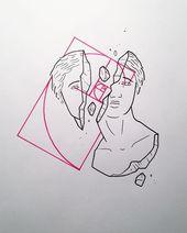 Conception personnalisée. Indisponible. Aime vraiment faire des dessins de tatouage …   – Tattoos