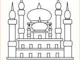29 Gambar Mewarnai Masjid Nabawi Terlengkap 2020 Warna Gambar
