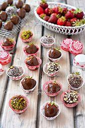 Schokoladenerdbeeren   – Löffelchen vollZucker – #Löffelchen #Schokoladenerdbe…