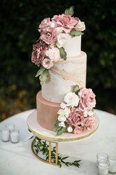 Hochzeitstorte Ideen. # wedding2019 #Hochzeitstrends #Hochzeit #Hochzeitstorten #Kuchen