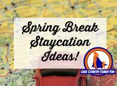 Spring Break Staycation Ideen – Places I'd Like to Go