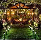 Outdoor Patio Lights Outdoor Dining Room Design Ideas With