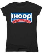ihoop I Hoop, also passen Sie bitte auf Ihr lustiges Basketball-Junior-Passform-T-Shirt mit Knöcheln auf   – Anthony