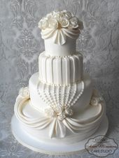 white wedding cake  – My cakes